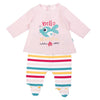 Babybol - Hello Beautiful Rainbow Fish Baby 2 Piece Outfit - Stylemykid.com