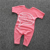 No!! Mine!! Pink Shortie Baby Romper Playsuit - Stylemykid.com