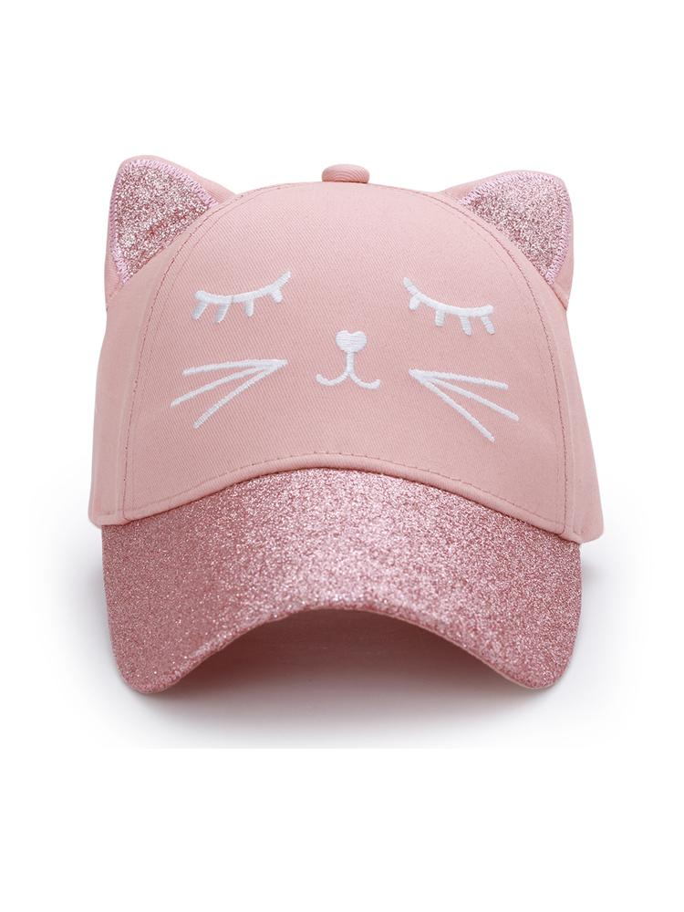3D Ball Cap - Cat - Stylemykid.com