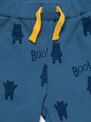 Artie - Bear Boo! Boys Blue French Terry Joggers - Stylemykid.com