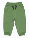 Artie - Wild One Forest Green Boys French Terry Sweatpant Joggers - Stylemykid.com
