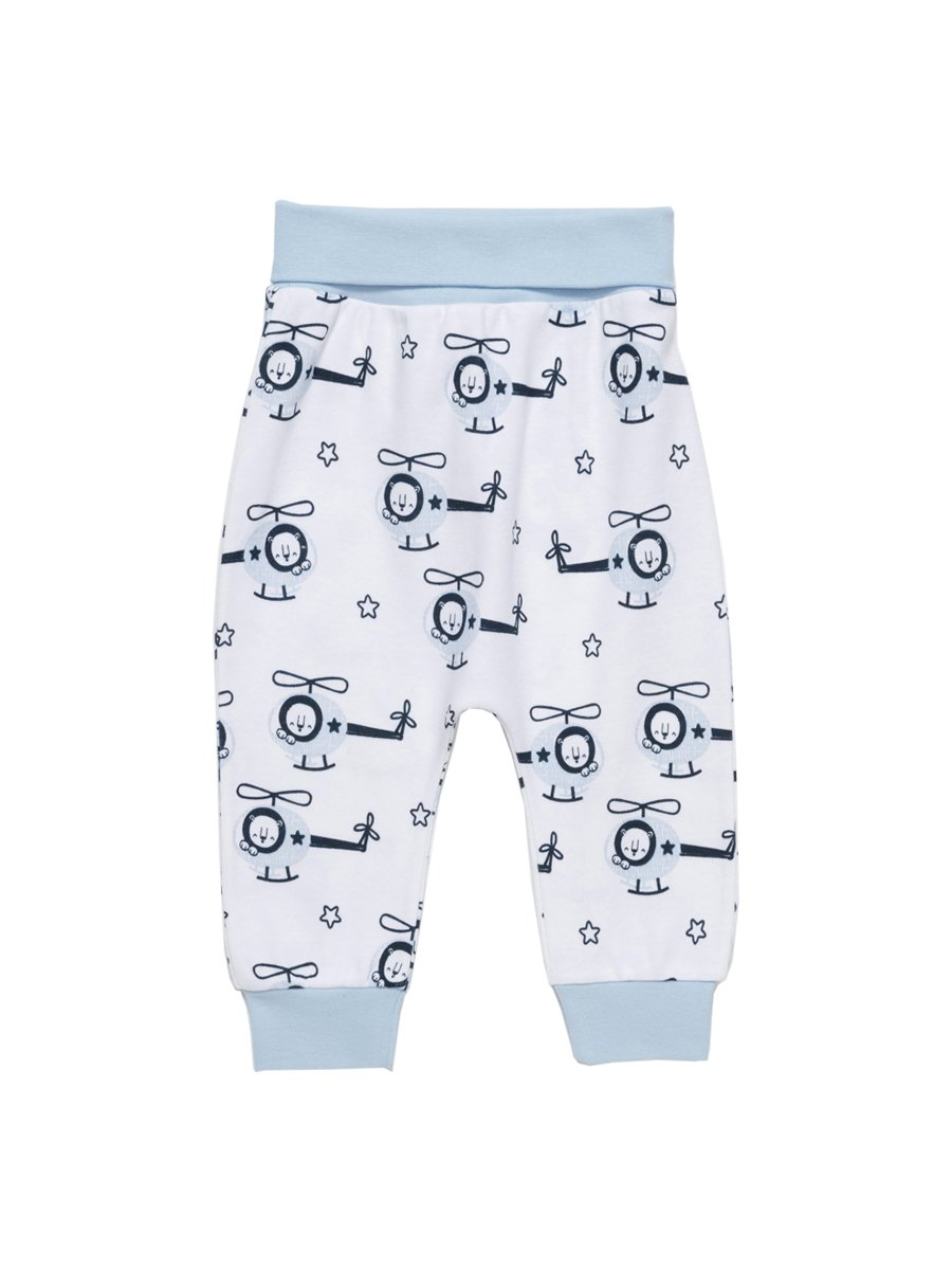 Artie - Hello Helicopter Baby Bottoms - Stylemykid.com