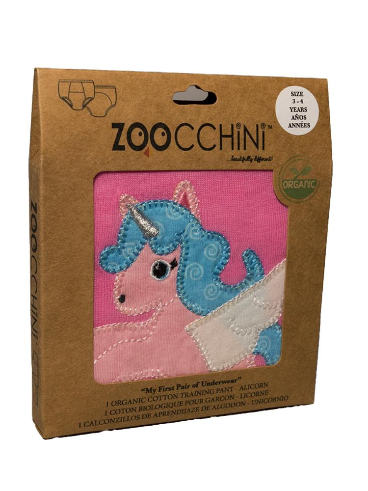 Zoocchini - 100% Organic Cotton Girls Potty Training Pants (single pack) - Allie the Alicorn - Stylemykid.com