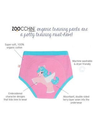 Zoocchini - 100% Organic Cotton Girls Potty Training Pants (single pack) - Olive the Owl