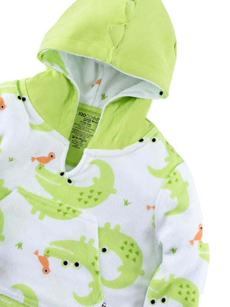 Zoocchini - Cotton Polyester UPF50+ Babies Cover-Up - Alligator - Stylemykid.com