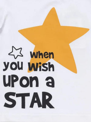 Wish Upon a Star White T Shirt - Stylemykid.com