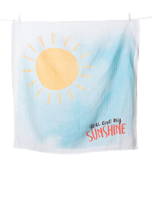 Lulujo - Baby's 1st Year - You Are My Sunshine - Blanket & Milestone Cards Set - Stylemykid.com