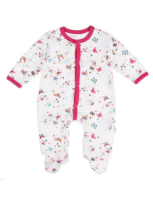 Babybol - Beautiful Butterflies Baby Sleepsuit - Stylemykid.com
