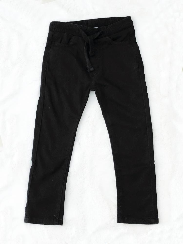 Babybol - Black Soft Jeans - Kids Pull up style for 1 - 6 Years - Stylemykid.com