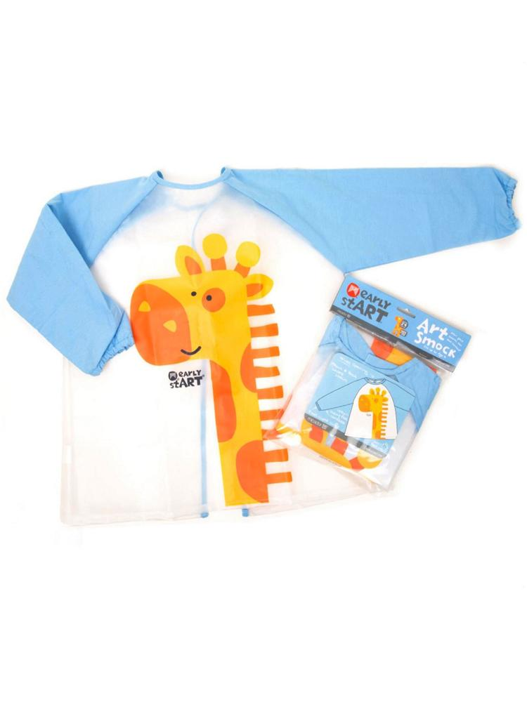 Early stART - Kids Blue Art Smock - Stylemykid.com