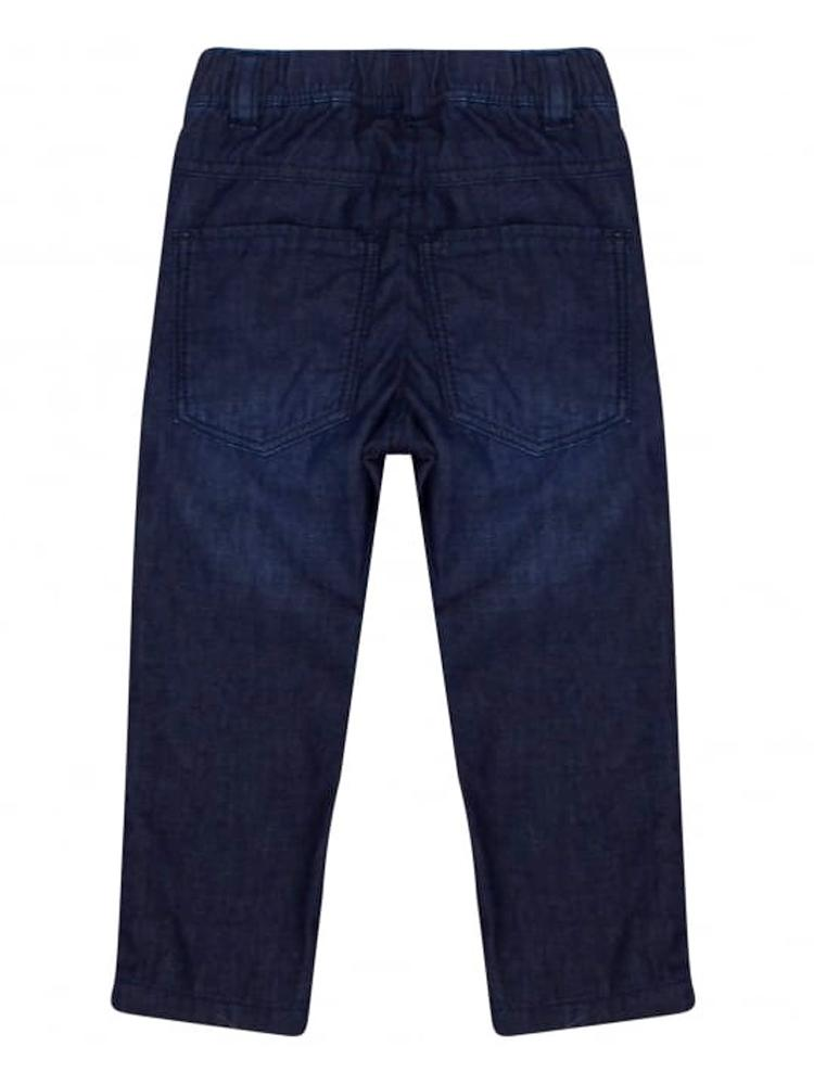 HUGO BOSS - Boys Elasticated Soft Denim Navy Jeans - Stylemykid.com