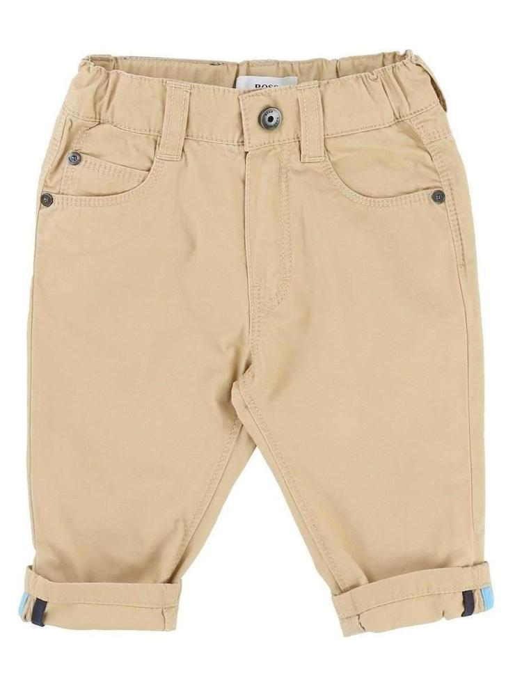 HUGO BOSS - Boys Tan Soft Chinos - Stylemykid.com