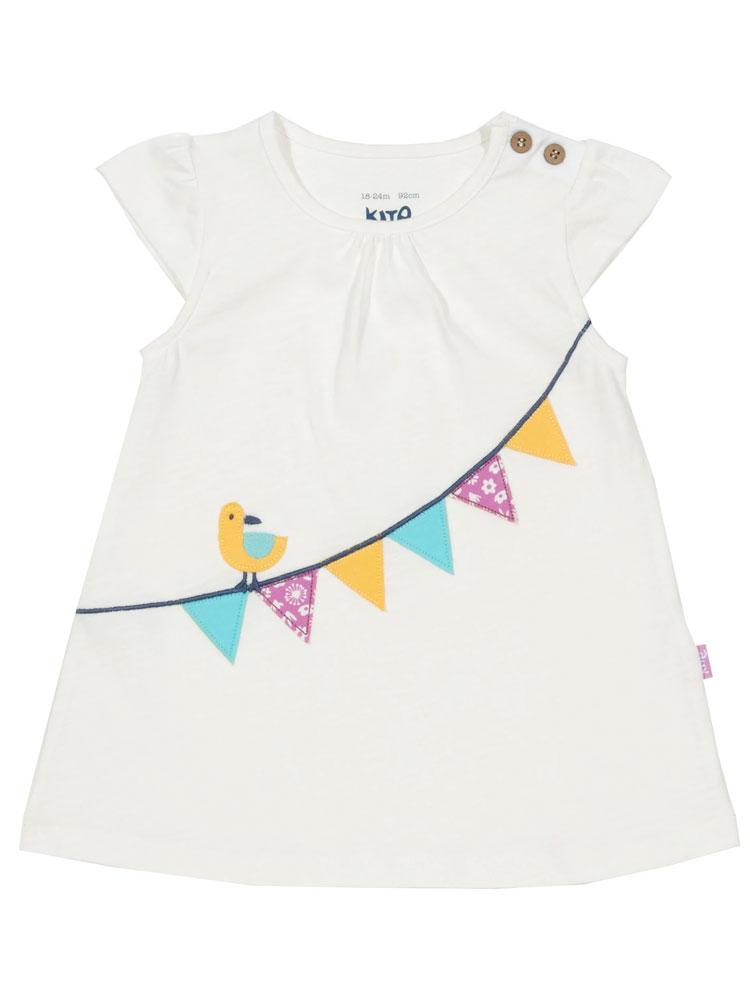 KITE Organic - Bunting Tunic Top from 3 months - Stylemykid.com