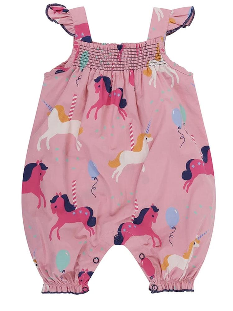 Lilly & Sid Organic Carousel Romper - Stylemykid.com