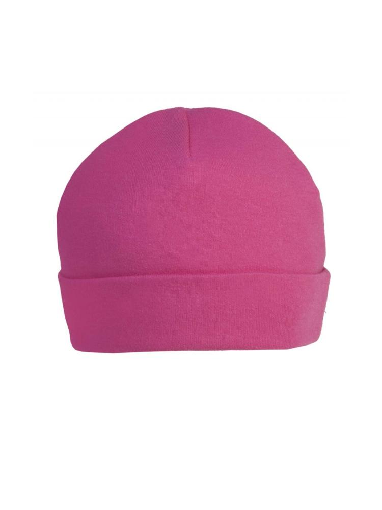 Bright Cerise Pink Beanie Baby Hat  - Everyday Collection - Stylemykid.com