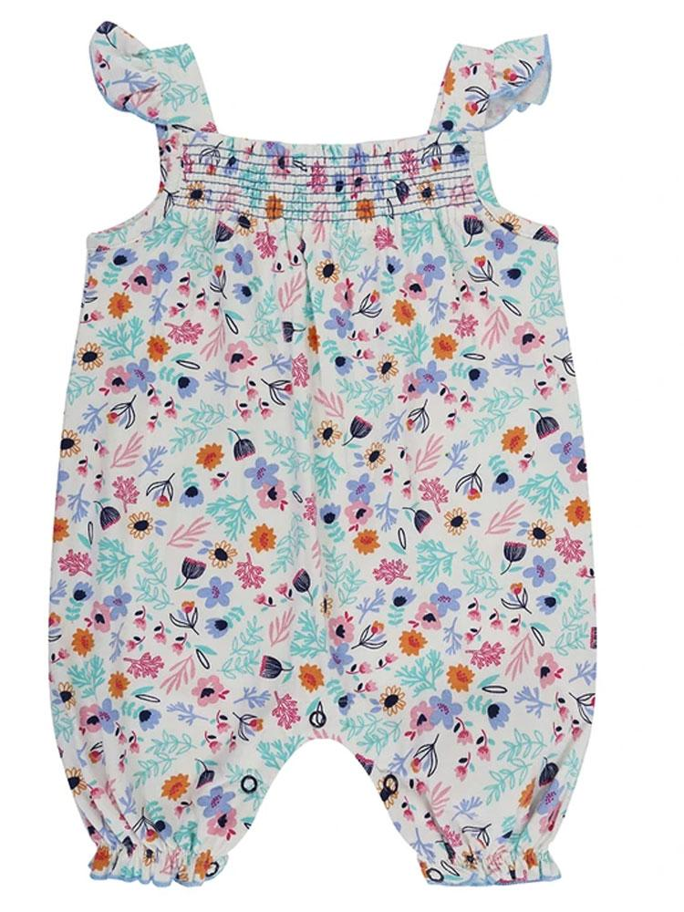 Lilly & Sid Organic Ditsy Romper - RRP £20 - Stylemykid.com