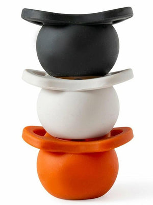 Doddle & Co - Pop & Go Dummy with Built In Case - 3 Pack Sugar & Spice + Cream of the Crop + Coal Mate - Stylemykid.com