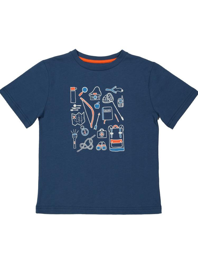 KITE Dark Blue Expedition t-shirt - Stylemykid.com