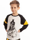 Batman Gotham Defender Long Sleeve Top - 3-7 Years - Stylemykid.com