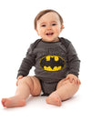Batman Baby Grow 2 Pack - Little Crime Fighter and Batman Signal Logo - 0-6 months to 18-24 months - Stylemykid.com