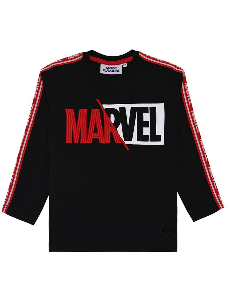 Marvel Splice Logo Long Sleeve Top - 3-6 Years - Stylemykid.com