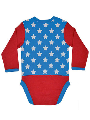 Wonder Woman Babygrow 2 Pack - Superhero and Stars - Stylemykid.com