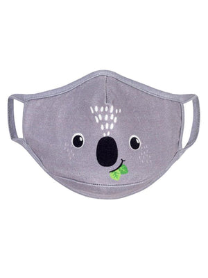Zoocchini - Reusable Organic Kids Face Masks - 3 Pack - Dog, Lion, Koala - Stylemykid.com