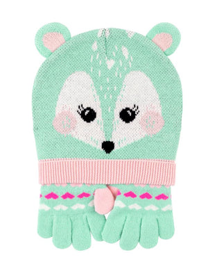 Zoocchini - Kids Winter Hat/Gloves Sets - Fiona the Fawn - Stylemykid.com