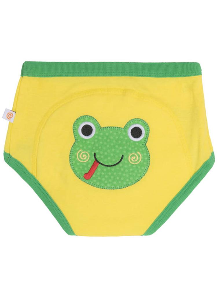 Zoocchini - Flippy the Frog Organic Potty Training Pants - Stylemykid.com