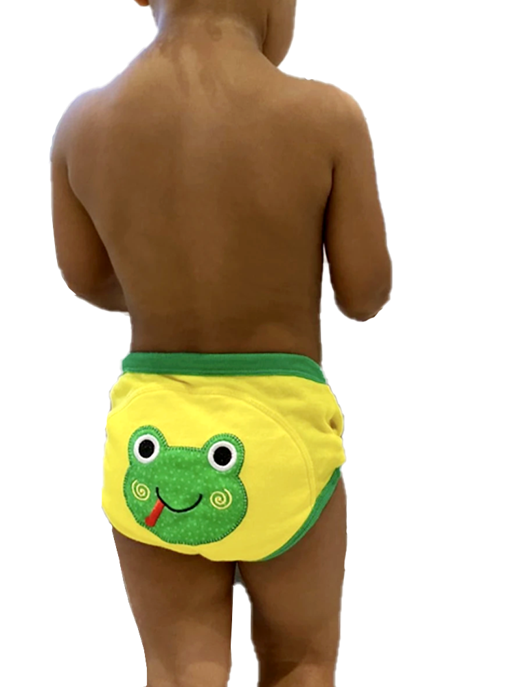 Flippy the Frog 100% Organic Cotton Training Pants (single pack) - Stylemykid.com