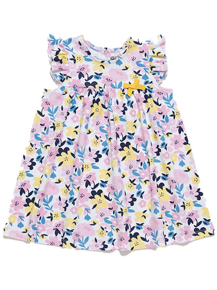 Artie - Pretty Summer Petals Floral Dress - Stylemykid.com
