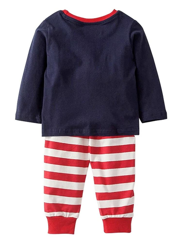 Flying High Set - Boys Flying Plane Top & Leggings Outfit - Stylemykid.com