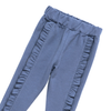 Artie - Frill Leggings - Girls Blue Leggings with Frill Design - Stylemykid.com