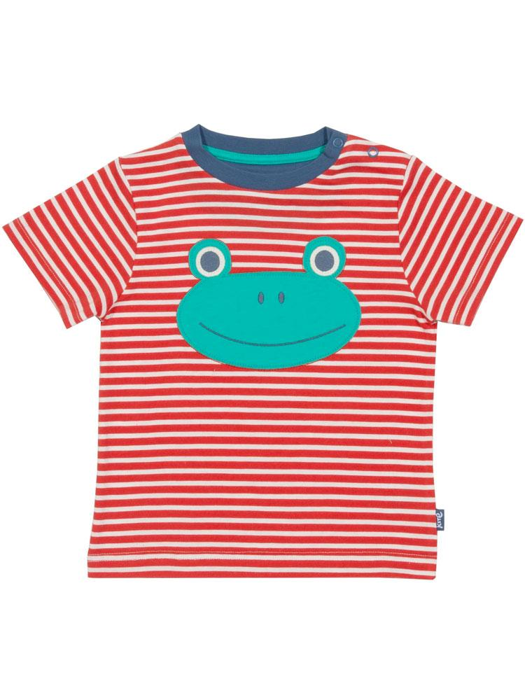 KITE Organic - Froggy T-Shirt - from 0-3 months - Stylemykid.com