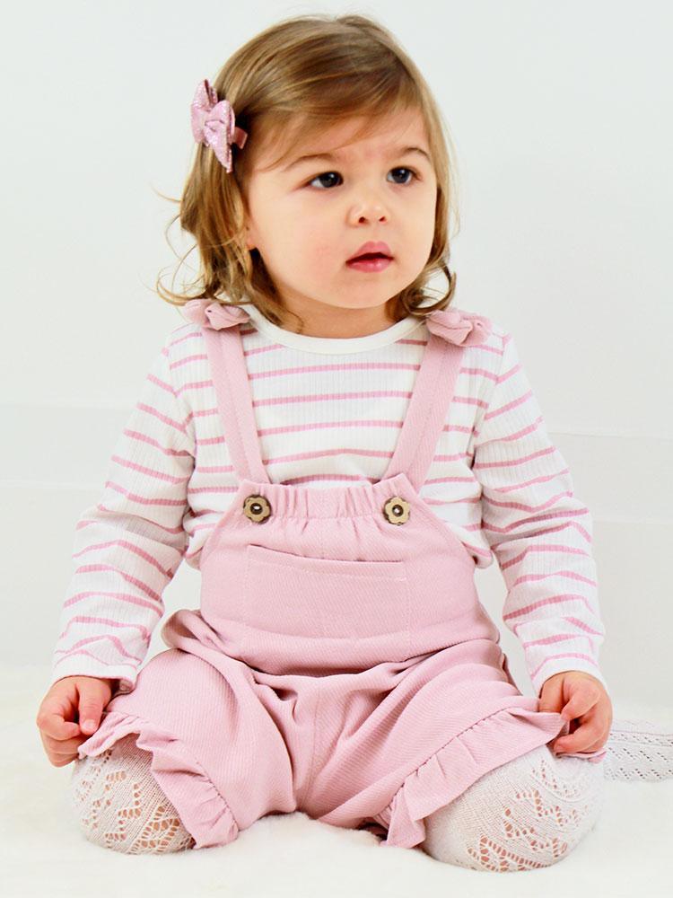 Girls Mink Pink Playsuit and Top Set - Stylemykid.com