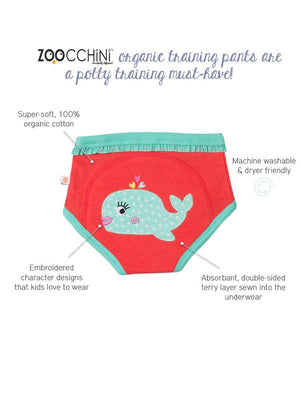 Zoocchini - 100% Organic Cotton Girls & Boys Potty Training Pants (3 pack) - Ocean Friends - Stylemykid.com
