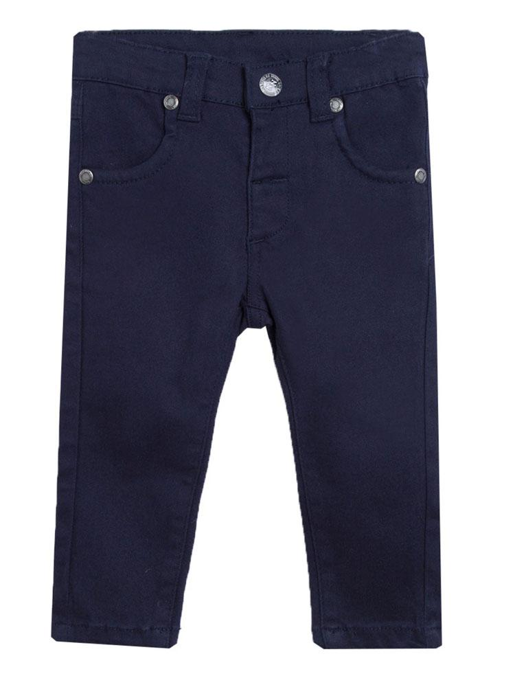 Dark Blue Slim Elasticated Jeans - newborn to 12 months - Stylemykid.com