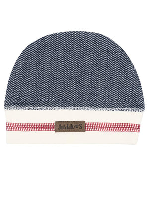 Juddlies - Organic Lake Blue Baby Beanie Hat - Cottage Collection - Stylemykid.com