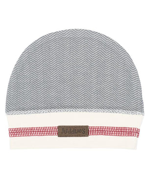 Juddlies - Organic Driftwood Grey Baby Beanie Hat - Cottage Collection - Stylemykid.com