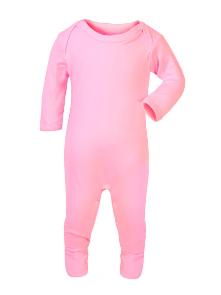Pretty Pink Footed Rompersuit - Stylemykid.com
