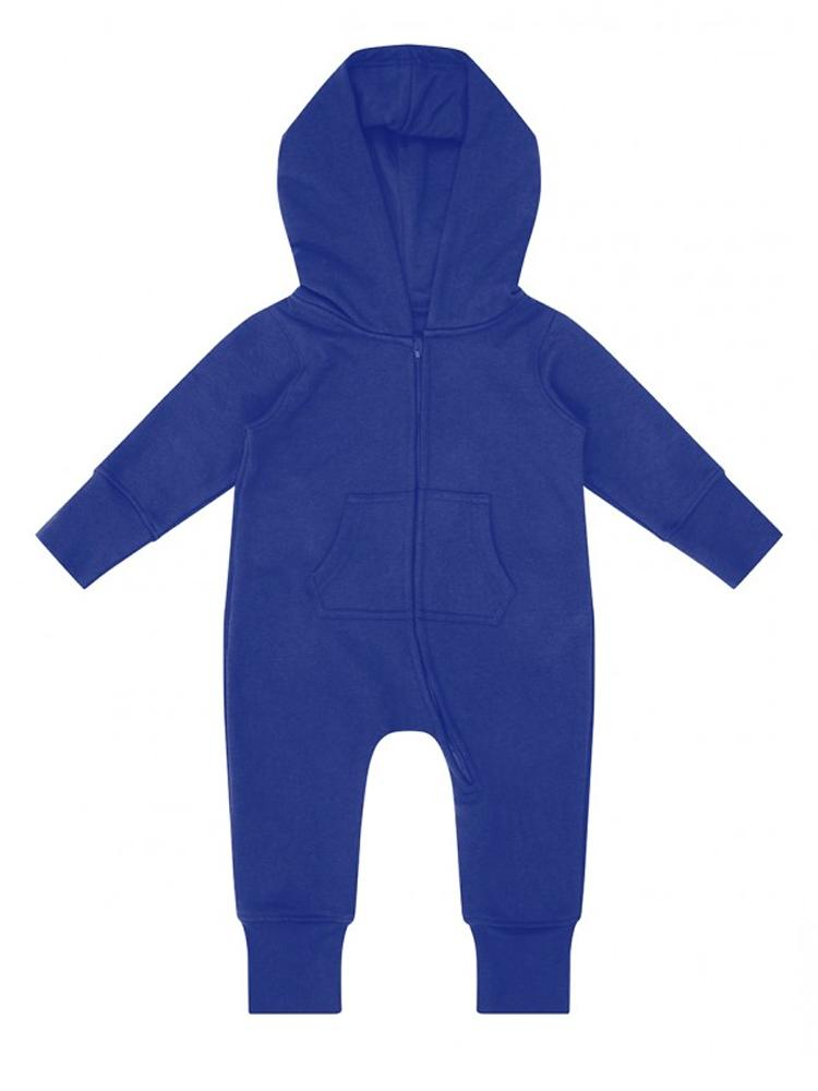 Royal Blue Hooded Fleece Baby & Toddler Onesie - Everyday Collection - Stylemykid.com