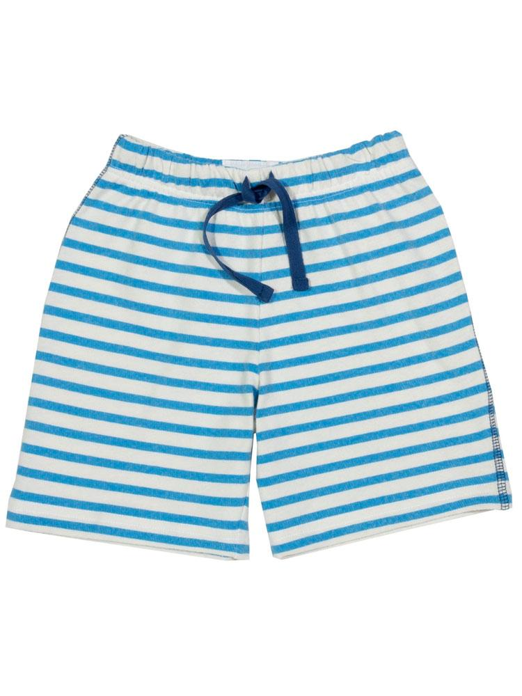 KITE Organic - Boys Stripy Sweat Shorts from 0-3 months - Stylemykid.com