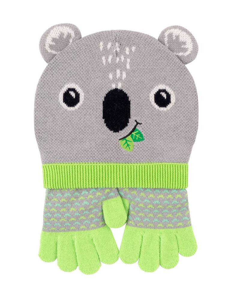 Zoocchini - Kids Winter Hat/Gloves Sets - Kai the Koala - Stylemykid.com