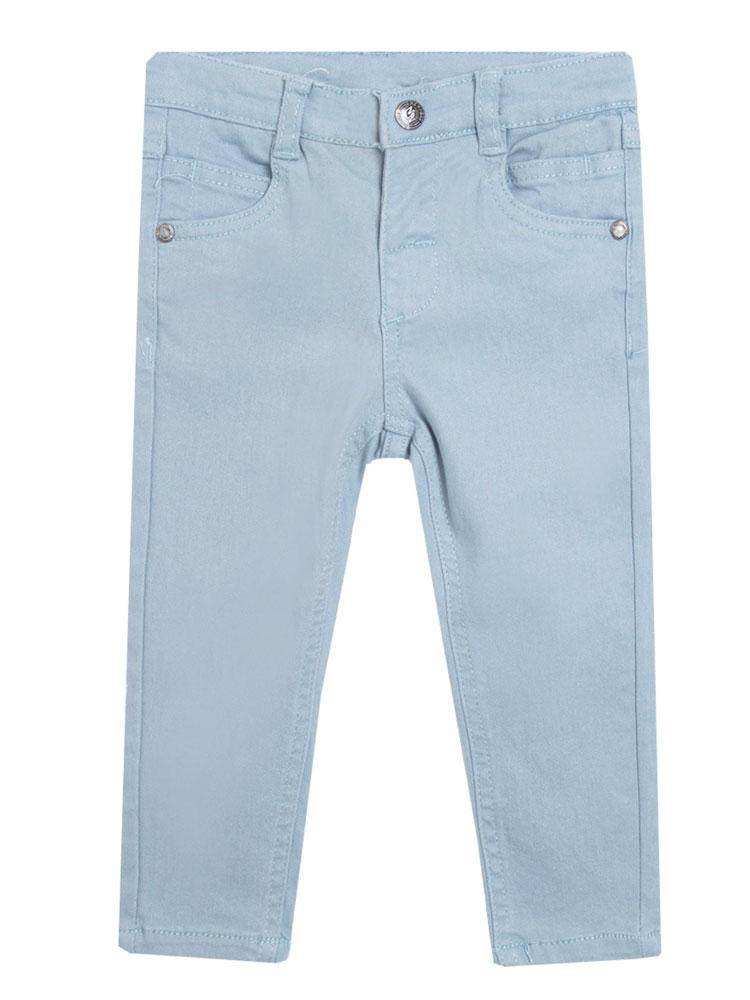 Light Blue Baby Unisex Elasticated Jeans - newborn to 24 months - Stylemykid.com