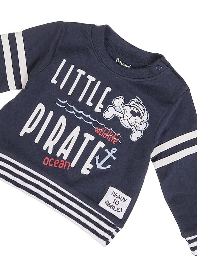 Babybol - Little Pirate Long Sleeve Top - Stylemykid.com