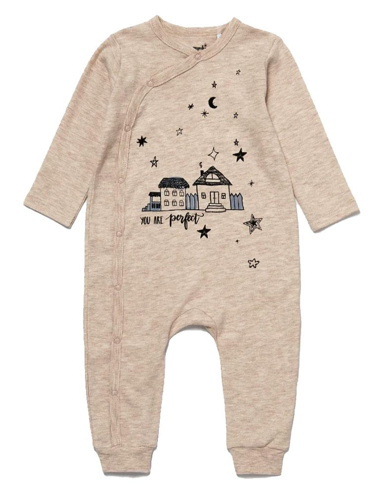 Artie - Little Night House Cream Sleepsuit - Stylemykid.com