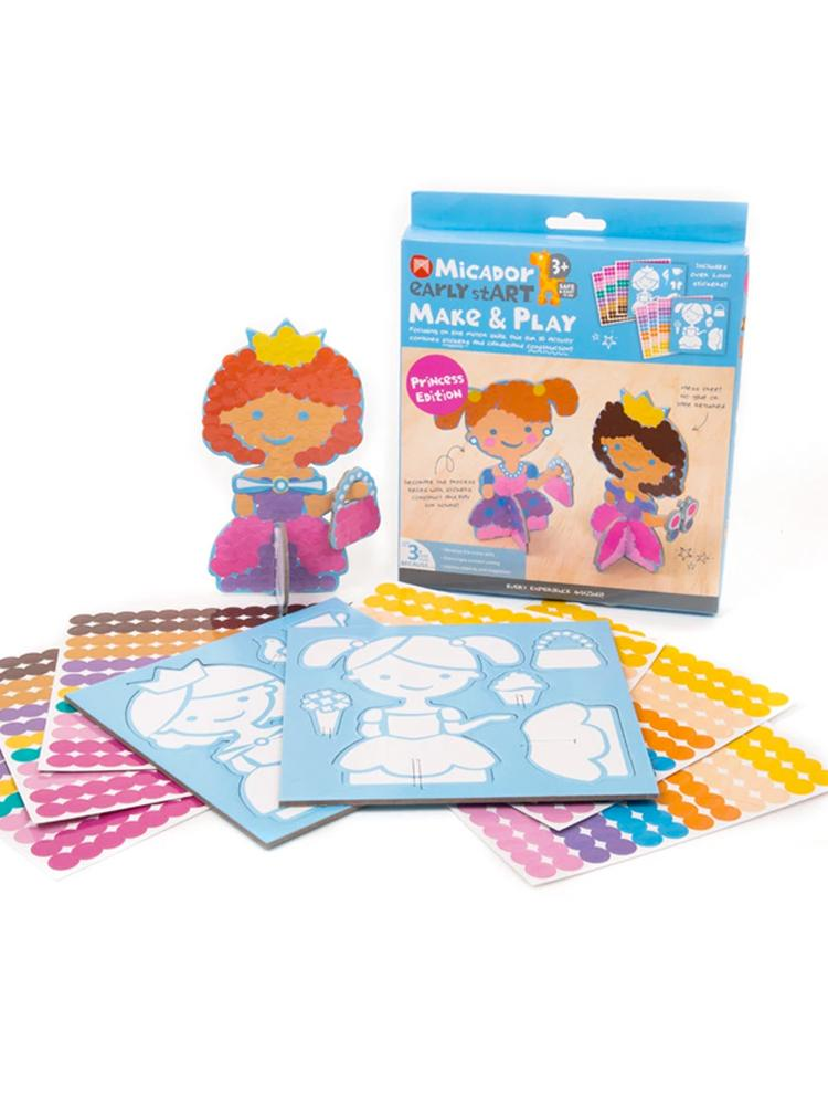 Micador Early StART Make & Play Kids Craft Set - Princess Edition - Stylemykid.com