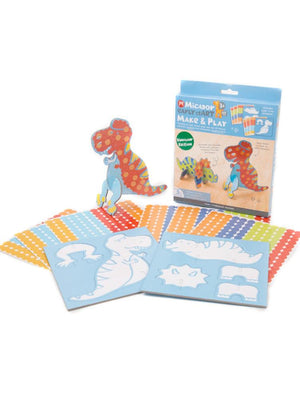 Early stART Make & Play Kids Art Craft Set - Dino Edition - Stylemykid.com