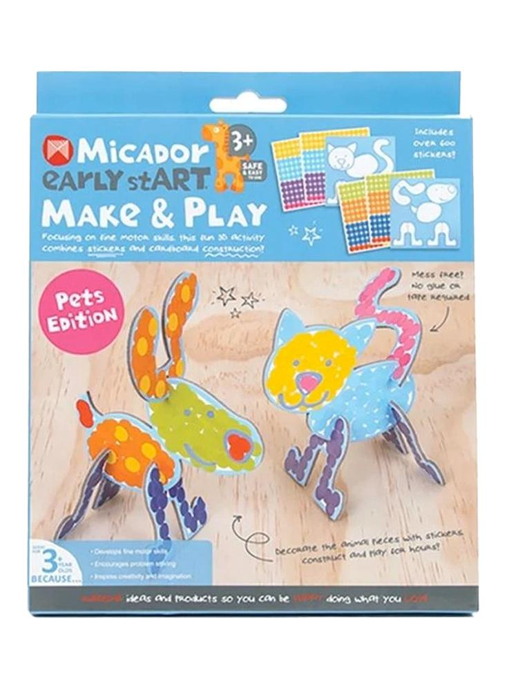 Micador Early StART Make & Play Kids Craft Set - Pets Edition - Stylemykid.com