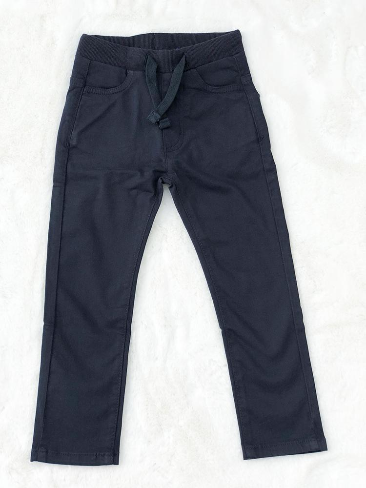 Babybol - Kids Dark Blue Soft Jeans - Pull up style for 1 - 6 Years - Stylemykid.com